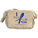 Colon Cancer Wife Messenger Bag