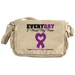 Alzheimer's MissMyNana Messenger Bag