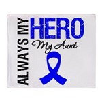 AlwaysMyHero Aunt Throw Blanket