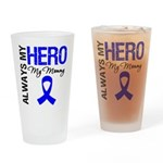 AlwaysMyHero Mommy Drinking Glass