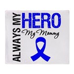 AlwaysMyHero Mommy Throw Blanket