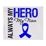AlwaysMyHero Niece Throw Blanket