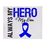 AlwaysMyHero Son Throw Blanket