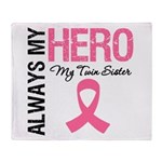 AlwaysMyHero Twin Sister Throw Blanket