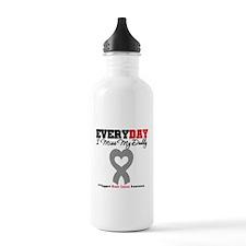 Brain Cancer Daddy Water Bottle