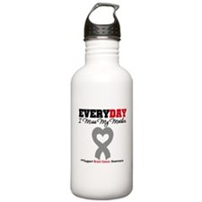 Brain Cancer Mother Water Bottle
