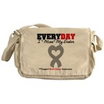 Brain Cancer Sister Messenger Bag