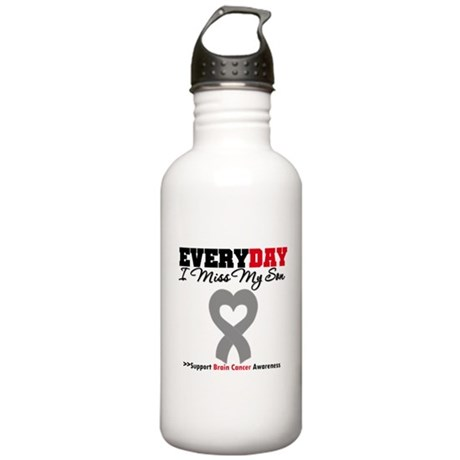 Brain Cancer Son Stainless Water Bottle 1.0L
