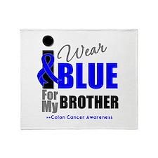 IWearBlue Brother Throw Blanket