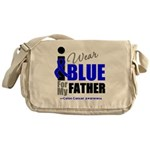 IWearBlue Father Messenger Bag