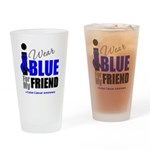 IWearBlue Friend Drinking Glass