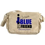 IWearBlue Friend Messenger Bag