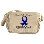 ColonCancer Granddaughter Messenger Bag