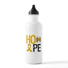 Appendix Cancer Hope Water Bottle