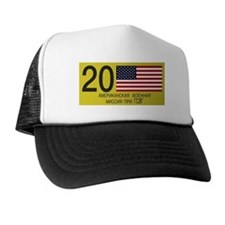 USMLM License Plate Trucker Hat