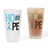 Hope Prostate Cancer Drinking Glass