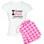 I Wear Pink Girlfriend Women's Light Pajamas