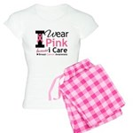 IWearPinkBecauseICare Women's Light Pajamas