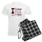 IWearPinkBecauseICare Men's Light Pajamas