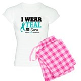 IWearTeal For The Cure Pajamas