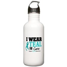 IWearTeal For The Cure Water Bottle