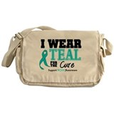 IWearTeal For The Cure Messenger Bag