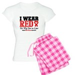 I Wear Red Son-in-Law Women's Light Pajamas