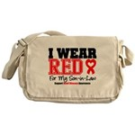 I Wear Red Son-in-Law Messenger Bag