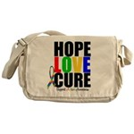HopeLoveCure Autism Messenger Bag