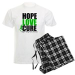 HopeLoveCure KidneyCancer Men's Light Pajamas