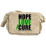 HopeLoveCure KidneyCancer Messenger Bag