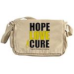 HopeLoveCure Sarcoma Messenger Bag