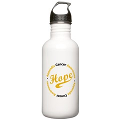 Hope Appendix Cancer Stainless Water Bottle 1.0L