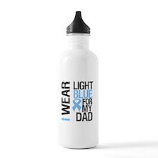 IWearLightBlue Dad Water Bottle