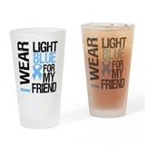 IWearLightBlue Friend Drinking Glass