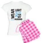 IWearLightBlue Husband Women's Light Pajamas