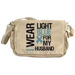 IWearLightBlue Husband Messenger Bag