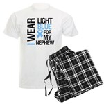 IWearLightBlue Nephew Men's Light Pajamas
