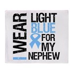 IWearLightBlue Nephew Throw Blanket