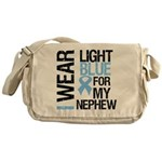 IWearLightBlue Nephew Messenger Bag
