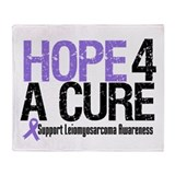 LeiomyosarcomaHopeCure Throw Blanket