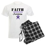 Faith Leiomyosarcoma Men's Light Pajamas