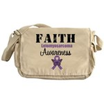 Faith Leiomyosarcoma Messenger Bag