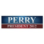Rick Perry 2012 Sticker (Bumper 50 pk)