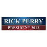 Rick Perry 2012 Bumper Sticker