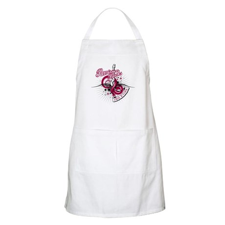 Throat Cancer Remission ROCKS Apron