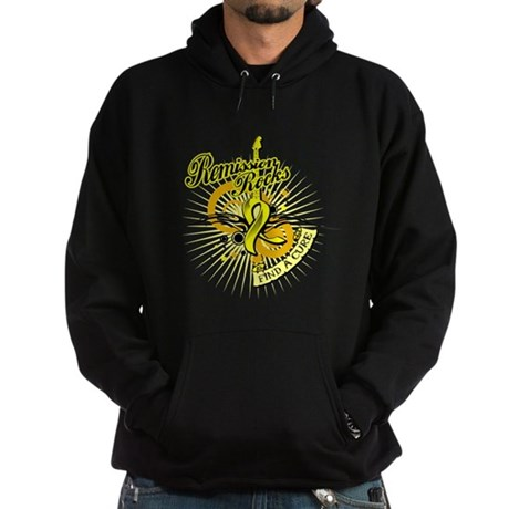 Sarcoma Remission ROCKS Hoodie (dark)