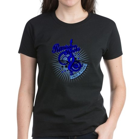 Rectal Cancer Remission ROCKS Women's Dark T-Shirt