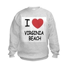 I heart virginia beach Sweatshirt