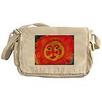 Sun Face Messenger Bag